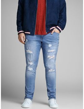 Liam Original Am 793 Plus Size Skinny Fit Jeans by Jack & Jones