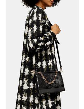tropic-black-snake-chain-cross-body-bag by topshop
