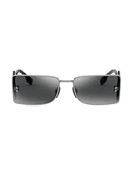 b-spirit-57mm-rectangle-sunglasses by burberry