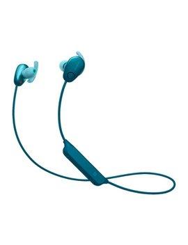 sp600n-sports-wireless-noise-canceling-in-ear-headphones---blue by sony