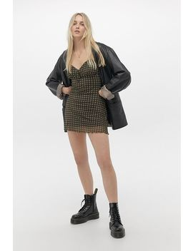 uo-elodie-gingham-check-mini-dress by urban-outfitters