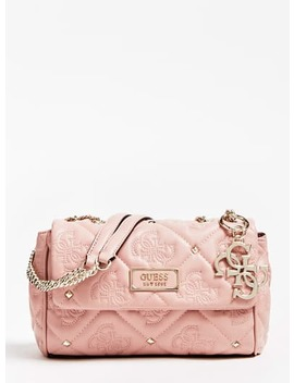 shanina-quilted-logo-stud-crossbody by guess