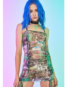 urban-canvas-ruched-dress by current-mood