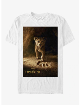 Disney The Lion King 2019 Simba Poster T Shirt by Box Lunch