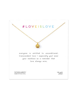 Love Is Love, Sphere With Rainbow Crystals by Dogeared