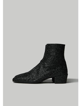 Caleb Zip Boot by Saint Laurent
