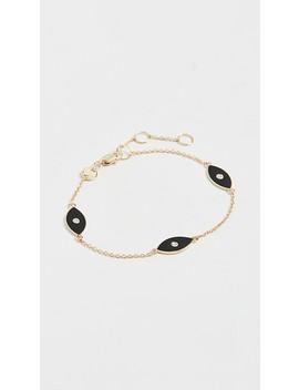nazar-enamel-trio-bracelet by jennifer-zeuner-jewelry