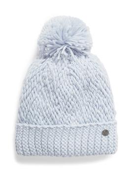chunky-knit-pom-beanie by zella