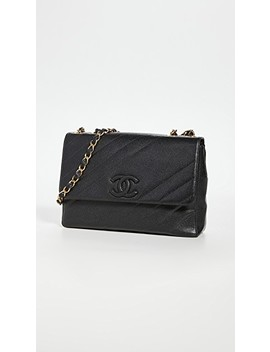 chanel-black-diagonal-quilt-bag by what-goes-around-comes-around