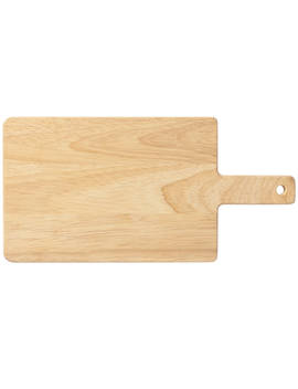 Rubberwood Cutting Board by Muji