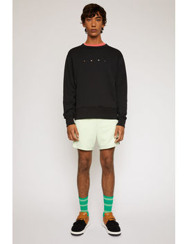 Animal Pin Sweatshirt Black by Acne Studios