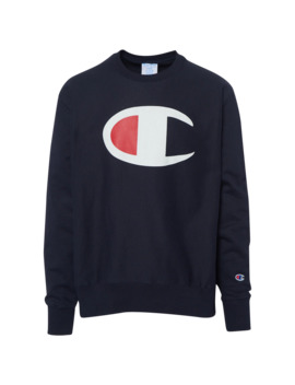 Champion Vertical Script Crew by Champion