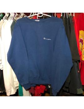 champion-spellout-embroidered-vintage-crewneck-sweatshirt by vintage  ×  champion  ×  streetwear  ×