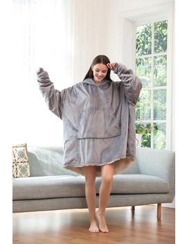 reafort-ultra-soft-one-size-fit-all-micromink-reverse-to-sherpa-sweatshirt-blanket,-hoody-for-men,-women,-teen by reafort