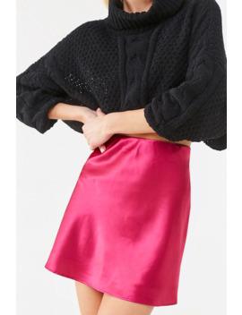 satin-mini-skirt by forever-21