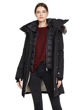 emele-jacket-with-faux-fur-trim by soia-&-kyo
