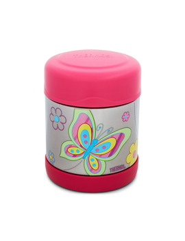 Thermos Fu Ntainer Stainless Steel Vacuum Insulated Food Jar 290m L   Butterfly by Funtainer