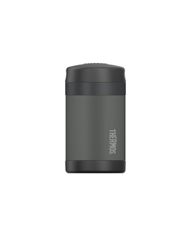 Thermos Funtainer Insulated Food Jar W/ Spoon 470ml Charcoal by Thermos