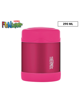 thermos-290ml-funtainer-insulated-food-jar---pink by funtainer