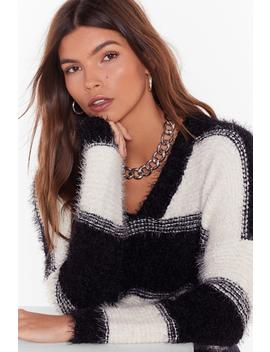 feels-like-the-stripe-time-v-neck-sweater by nasty-gal
