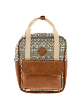 Boho Tapestry Midi Square Backpack by Claire's