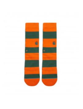 Carhartt Wip X Stance Barkley Socks Clivia / Dragon Stripe by 5 Pointz
