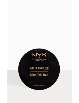 nyx-pmu-matte-bronzer-medium by prettylittlething