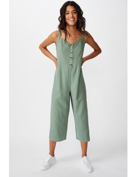 Woven Ada Strappy Jumpsuit by Cotton On