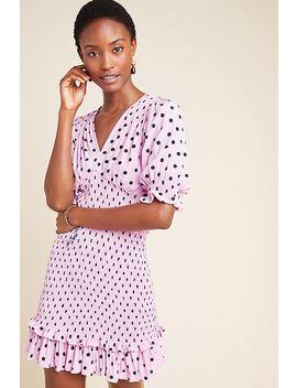 faithfull-sylvie-smocked-mini-dress by faithfull