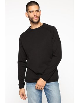 lennard-pullover-sweater---black by fashion-nova