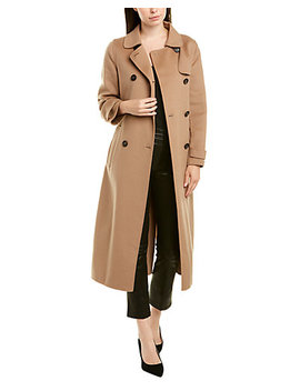 max-mara-wool-&-angora-blend-coat by max-mara