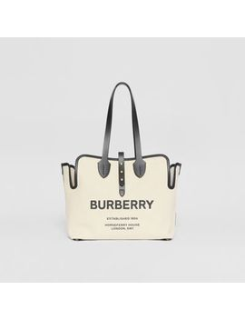 The Medium Soft Cotton Canvas Belt Bag by Burberry