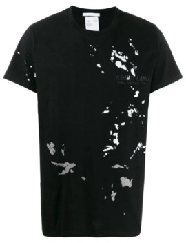 paint-splatter-t-shirt by helmut-lang