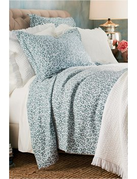 Leopard Chenille Coverlet by Soft Surroundings