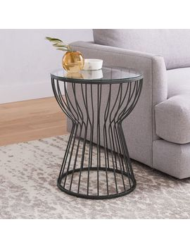 Pillar Side Table by West Elm