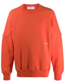 logo-print-sweatshirt by ambush