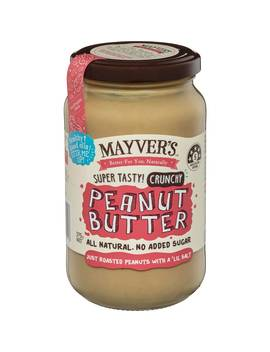 Mayver's Crunchy Peanut Butter 375g by Mayver's