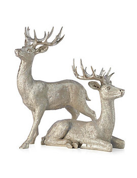 "Majestic Deer   22""H &Amp; 32\""H by Z Gallerie"