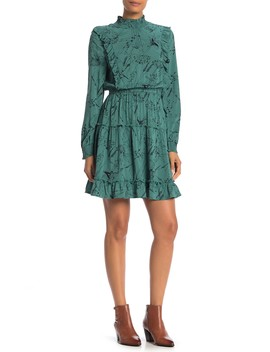 smocked-neck-tiered-dress by susina