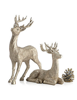 "Majestic Deer   8""H &Amp; 14""H by Z Gallerie"
