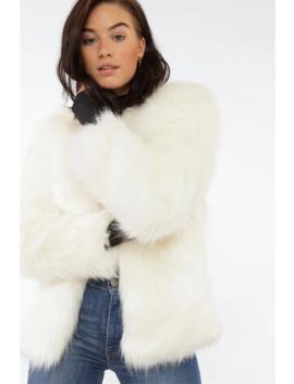 Soft Babe Faux Fur Jacket by Chiquelle