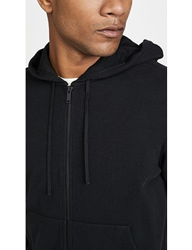 ridge-zip-hoodie by theory