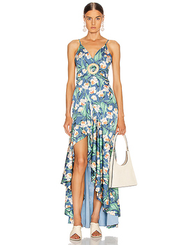 floral-belted-maxi-dress by patbo