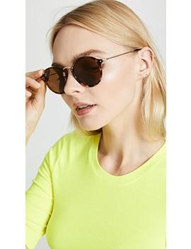 metal-bridge-round-sunglasses by ray-ban