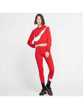 nike-womens-swoosh-red-hbr-crew-sweatshirtnike-womens-swoosh-red-hbr-crew-sweatshirt by hibbett