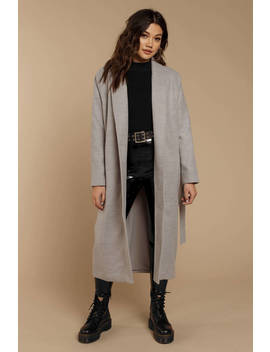 The Fifth Label Asteroid Grey Coat by Tobi