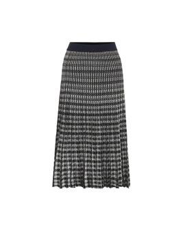 cyrilla-pleated-midi-skirt by baum-und-pferdgarten