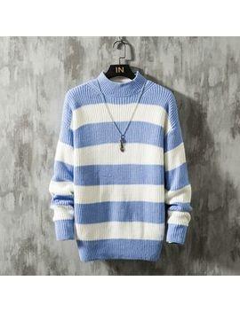 ceache---long-sleeve-striped-knit-top by ceache
