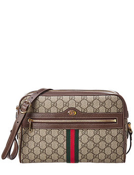 gucci-ophidia-small-gg-supreme-canvas-&-leather-shoulder-bag by gucci