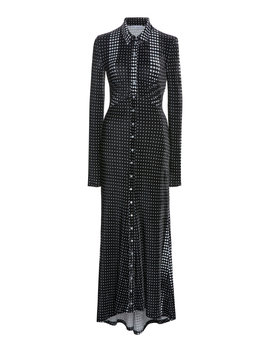 dotted-velvet-maxi-dress by paco-rabanne